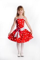 Платье Лада красное